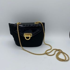 Frenchy of California Vintage Black Cross-body Bag